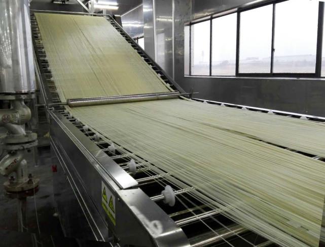 陈辉球干浆米线生产线的工艺流程是怎样的呢?