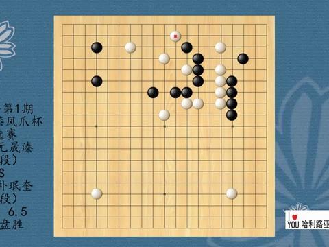 2021年第1期韩国牛膝凤爪杯预选赛,元晟溱VS朴珉奎,黑中盘胜