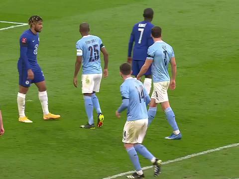 足总杯-切尔西1-0曼城晋级决赛齐耶赫一脚定乾坤丁丁伤退