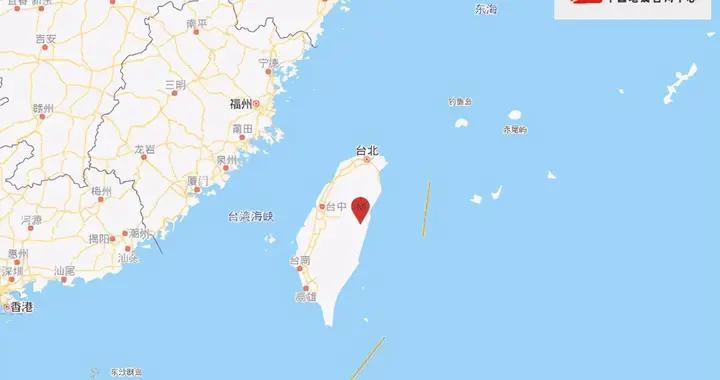 台湾花莲3分钟连发2次地震 最大震级6.1级