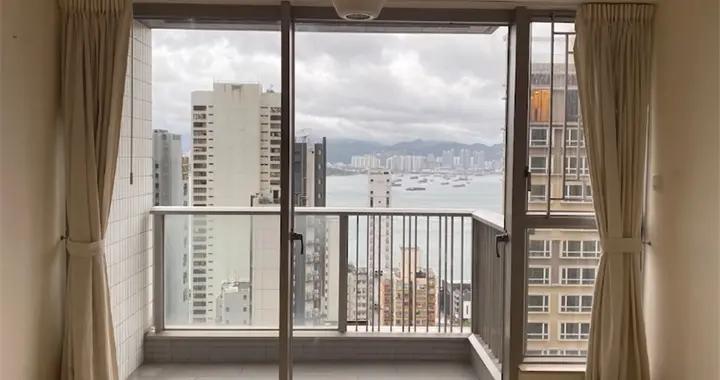 香港小老板买下31楼52㎡住宅,视野绝佳,小房子越住越舒心