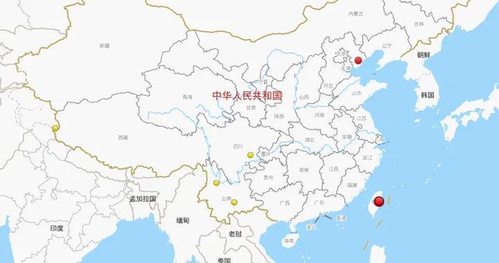上周,我国共发生三级以上地震7次,最大地震发生在台湾花莲