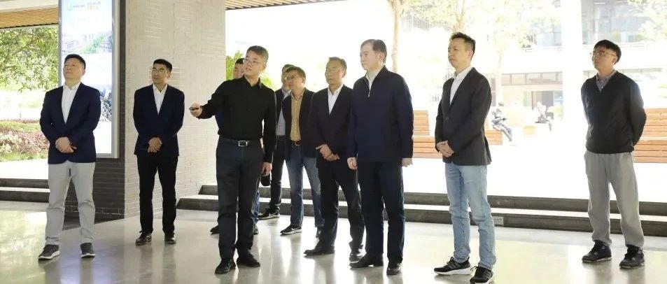 【园区|动态】刘忻市长调研信息港小镇