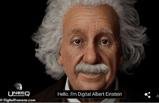 """科学家用AI""""复活""""爱因斯坦 与你谈笑风生解答时间旅行困惑"""