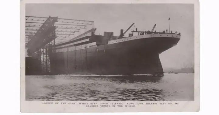 奇速英语时文阅读初一篇:泰坦尼克号船员生前所寄明信片拍卖