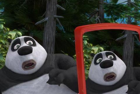这都是《熊出没》中的角色?图四是个啥玩意儿,这让我咋分析!