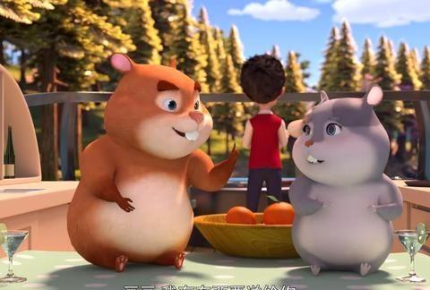 熊出没:这四个可爱的角色,大家还记得吗?恐怕没几人记得了