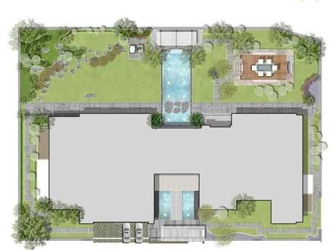 高尔夫球场+休闲生活,看这座600平花园的高级配置~