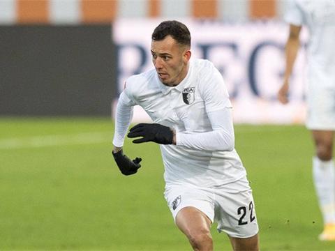 德甲:法兰克福遭遇0封士气受影响,奥格斯堡2场未尝胜绩状态低迷