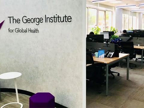 上海蓝十字脑科医院与乔治全球健康研究院代表团队科研合作启动会