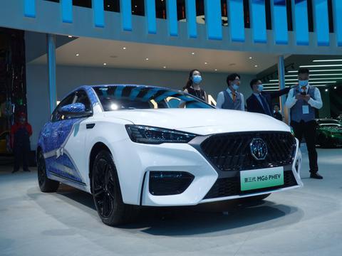 2021上海车展丨上汽名爵MG6 PHEV跨界合作定制版亮相