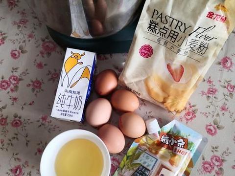 几个鸡蛋一把面粉拌一拌,烤一烤做出松软香甜好味道,简单不难做