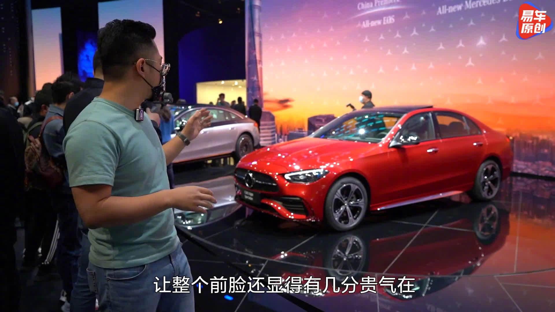 视频:预定爆款,李伟龙抢先体验奔驰C级
