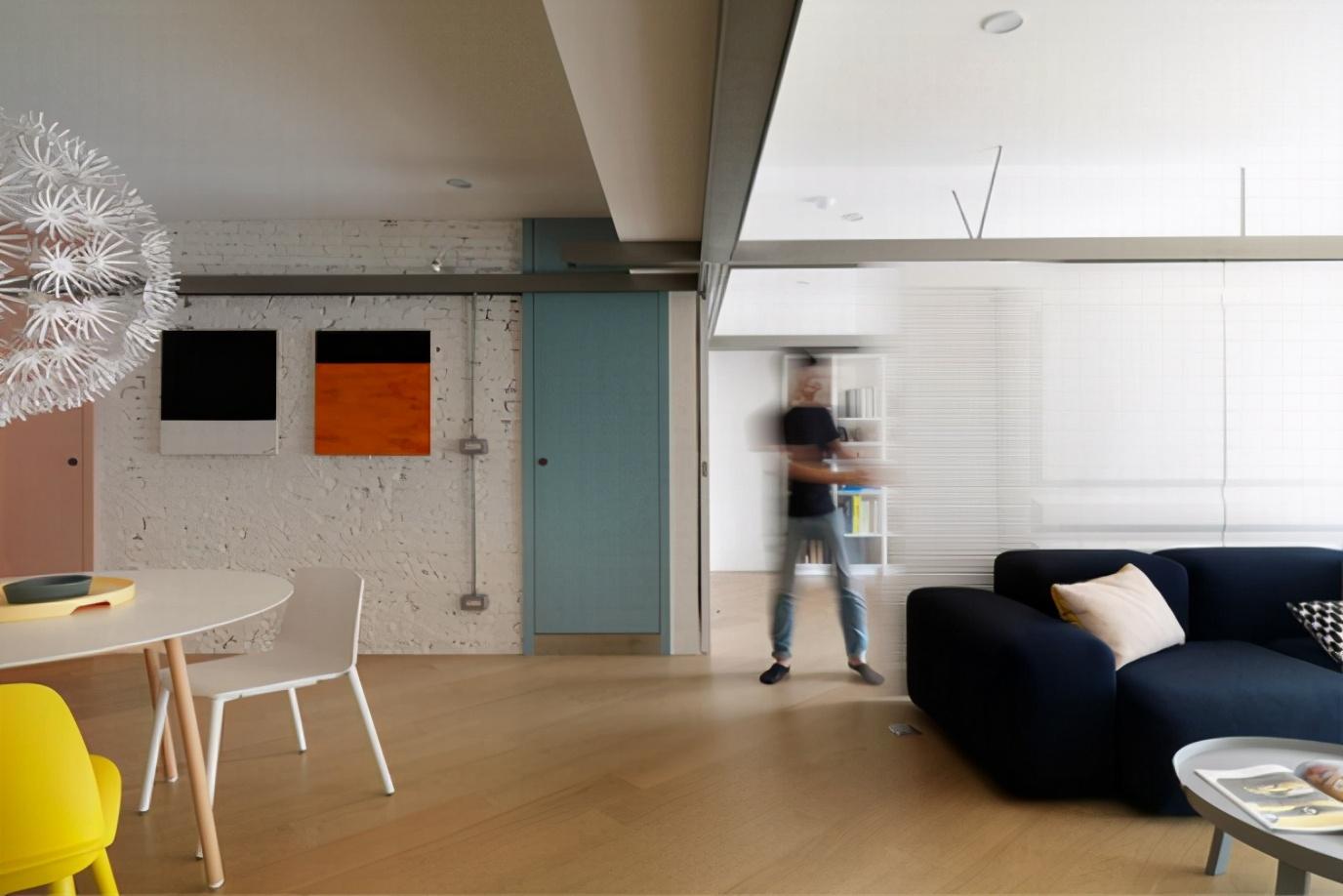 赢咖3注册首页 老房大改造,色彩碰撞构筑活力空间,清新简约装修不费力