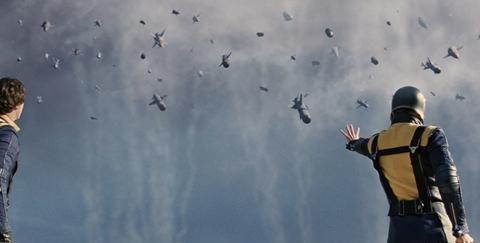 小羽影视汇:面对敌人的飞弹,你会怎么做? 《X战警:第一战》