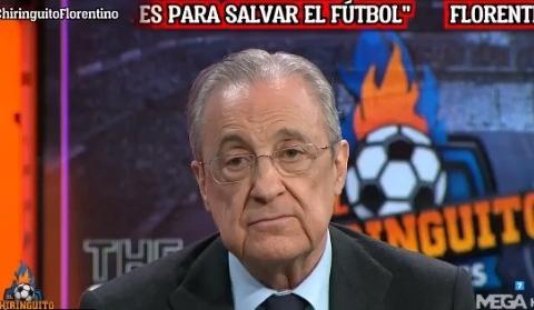 弗洛伦蒂诺:我知道勒布朗-詹姆斯的薪水,却不知道欧足联主席的