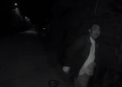 """云和:男子深夜连人带车翻落水沟,""""我只想把车拉上来!"""""""