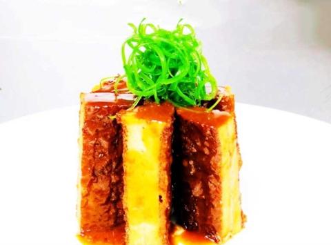 杂菜咖喱虾、香酥刀鱼、滋补响螺汤