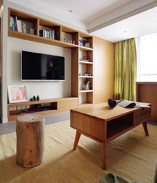 95平跃层新房,风格色彩搭配完美,玻璃扶手