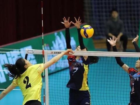 全运女排9-12名赛:北京3-0擒下云南 福建3-0战胜河北
