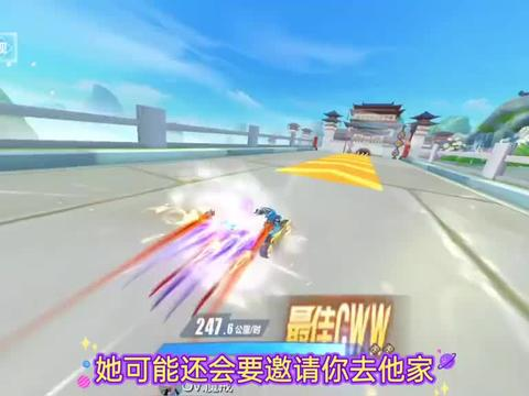 QQ飞车手游雅典娜改名智慧女神,模型也拿回去重做剩下特效板车