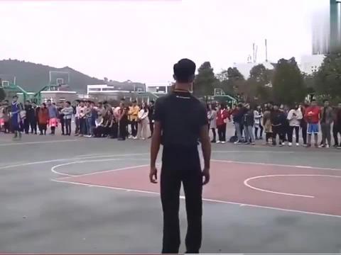 体校的学生怎么打篮球怼就完了,真的是太猛了!