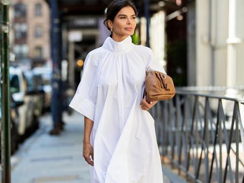 今年春夏,最不能缺少的就是小白裙,不仅优雅高级,穿着也不过时