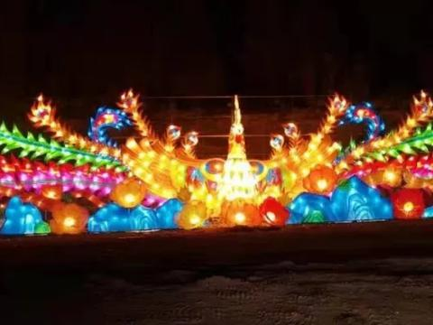 枣庄温泉小镇5.1开园暨首届鲁南嘉年华艺术灯展盛大开幕