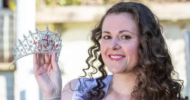 英国27岁医生减肥50斤后参加英格兰小姐选美大赛,获史上最多选票