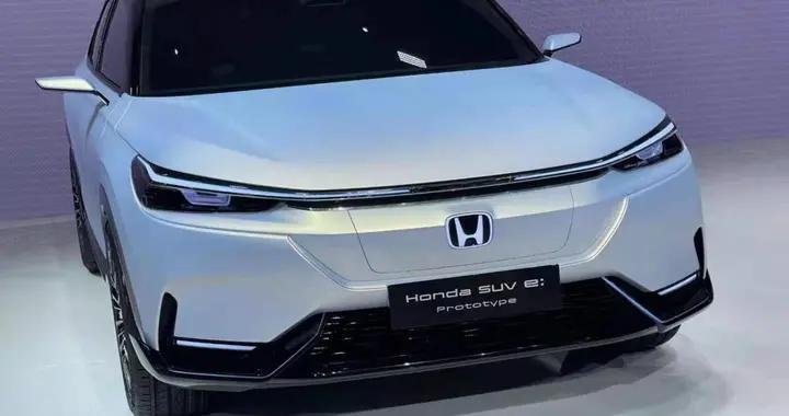 本田H标首款纯电SUV原型车,重新定义科技美
