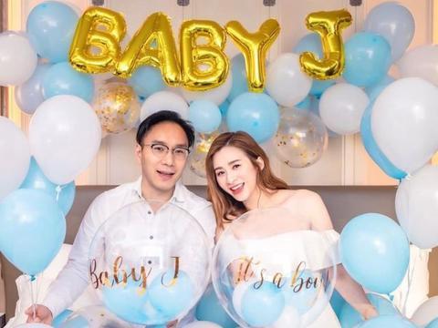 前TVB小花晒夫妻恩爱合影官宣胎儿性别 邀圈中闺蜜开迎婴派对