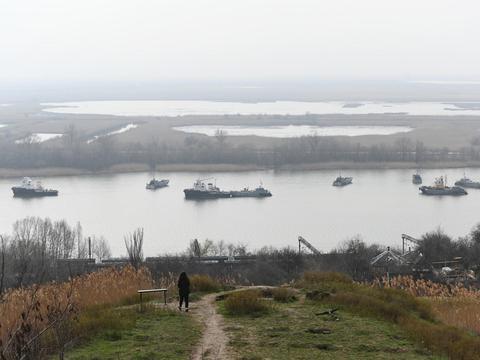 大仗还没打,乌克兰海军要全灭了,被堵在亚速海被里海舰队盯上了