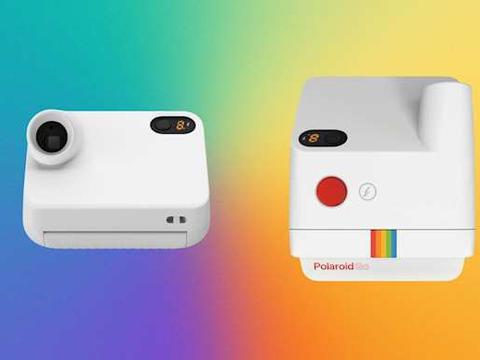 目前全球最小的拍立得相机——Polaroid Go