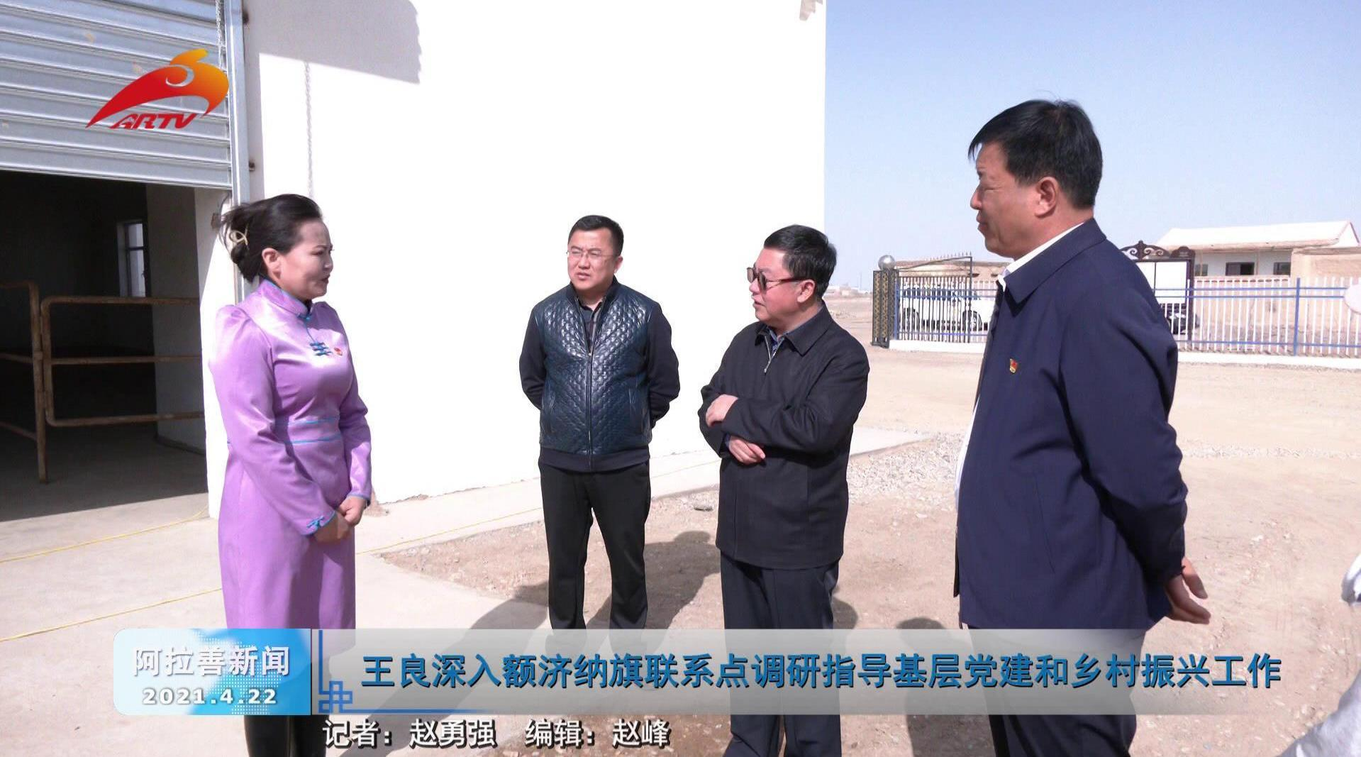 王良深入额济纳旗联系点调研指导基层党建和乡村振兴工作