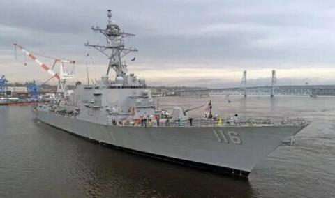 俄军向俄乌边境集结,美国军舰再次进入黑海,仅2艘到底啥意义?