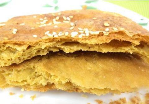 山西灵丘黄烧饼,香甜酥脆,油而不腻,你吃过吗?