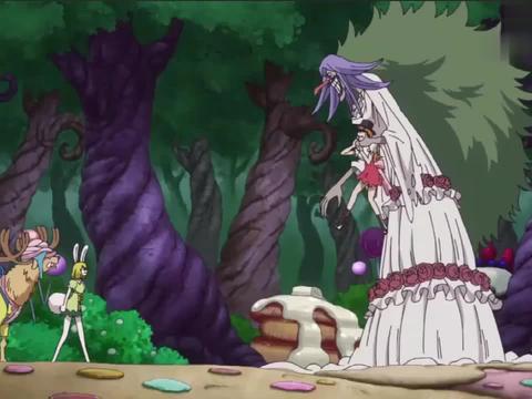 海贼王:布蕾首次出场,就为海米们送出娜美的福利