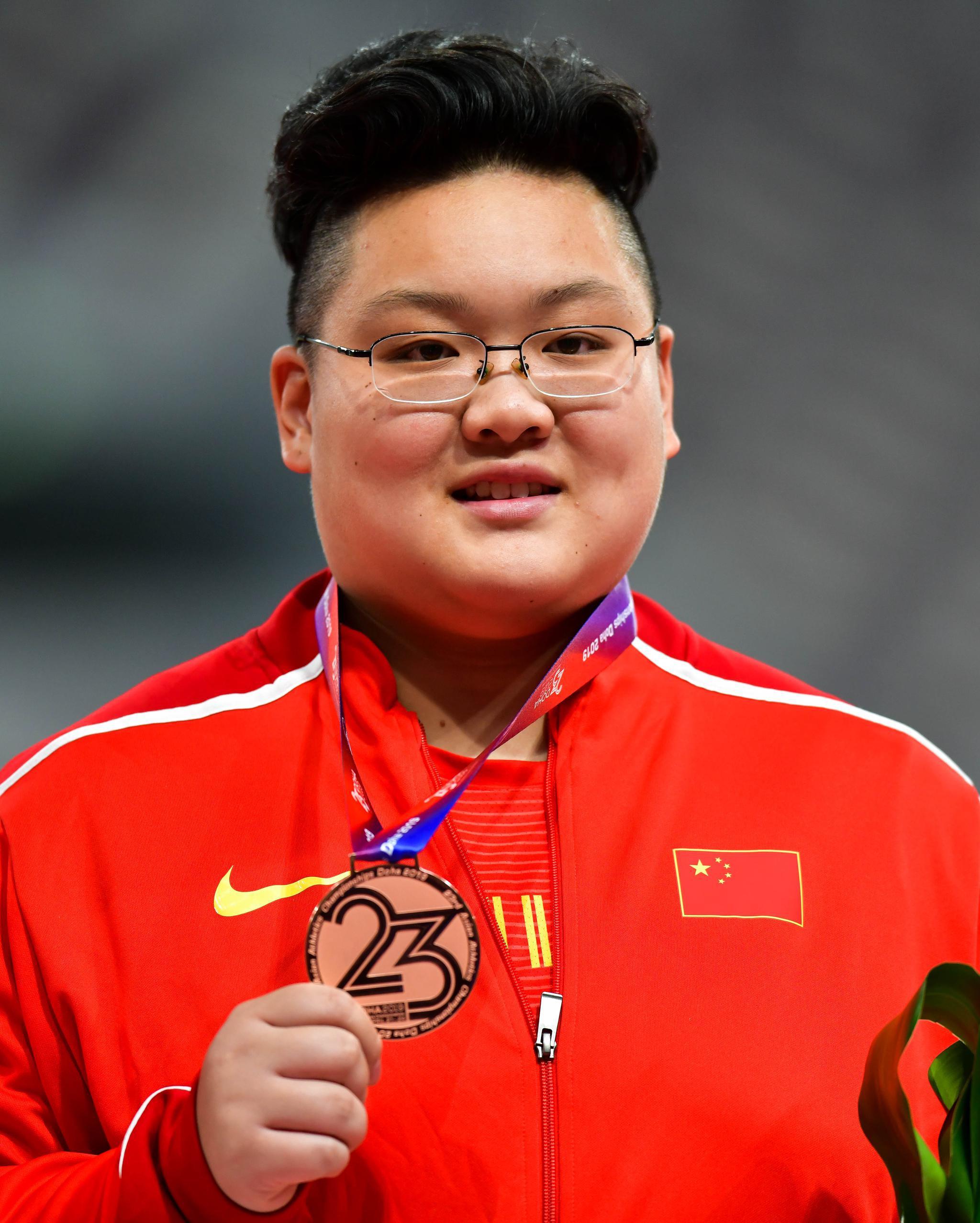 19米32,铅球女王巩立姣喜迎接班人 23岁名将首破19米排世界第三