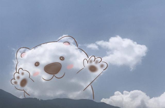 """她是""""云彩翻译官"""",在大理的蓝天白云上作画!"""