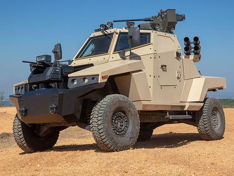 沙漠轻骑兵:行将革命性改变中东战场的毒刺有/无人战车系统
