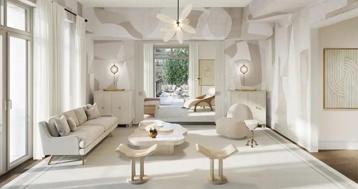 全平层豪宅样板房,售价20万/㎡的公寓,软装果然也是顶配