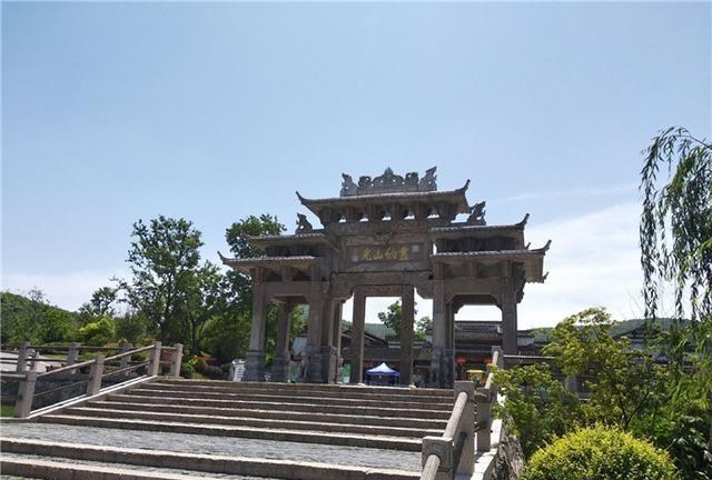 江苏一处仿古建筑,寻找一份古镇情节,夜景也非常漂亮