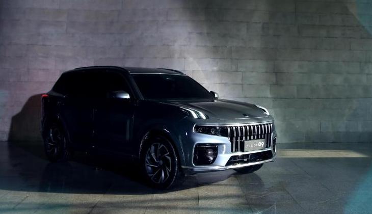 领克中大型旗舰SUV曝光,前脸比途昂霸气,5.6秒破百,年内上市