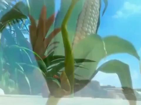 爆笑虫子:岛上遇到饥荒,小红小黄意外发现了玉米种子
