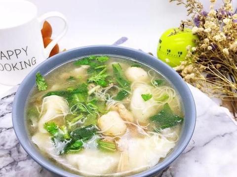 舌尖上的美食之江苏鸡皮虾丸汤和糖粥藕,每一种都是精品,美味