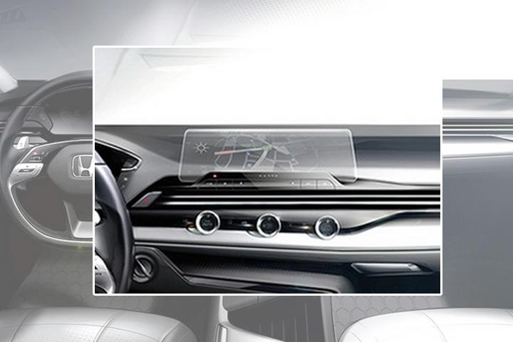 全新一代思域内饰曝光,新款方向盘+窄边框中控屏