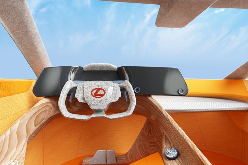雷克萨斯携手艺术家及设计师联合打造LF-Z虚拟座舱