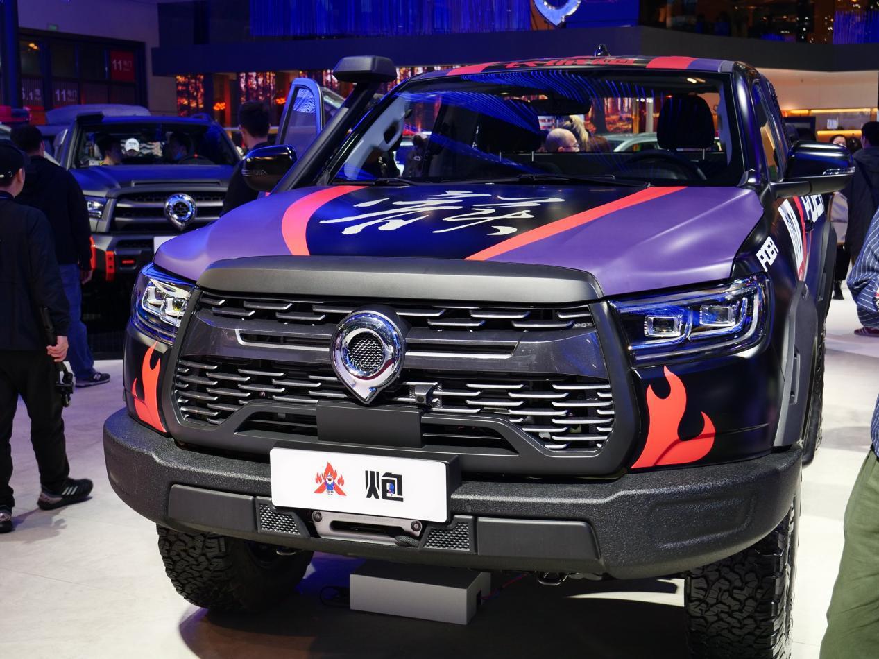 2021上海车展新车解读:长城X炮/炮家族
