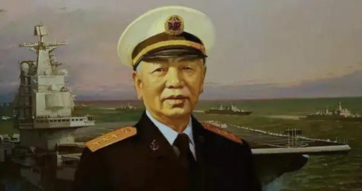 不忘老司令员,主导航母发展,设计了海军旗