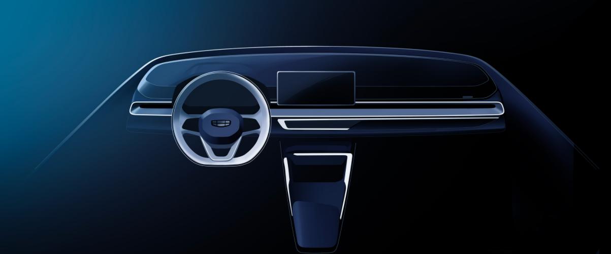 吉利第4代帝豪设计图曝光!内饰风格大改,或将搭载2.0T发动机?